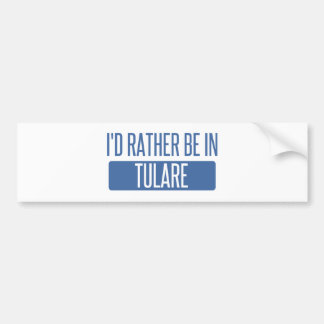 Adesivo De Para-choque Eu preferencialmente estaria em Tulare