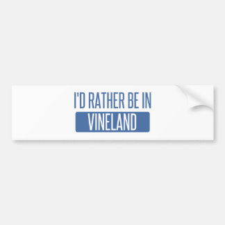 Adesivo De Para-choque Eu preferencialmente estaria em Vineland