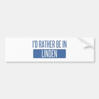 Adesivo De Para-choque Eu preferencialmente estaria no Linden