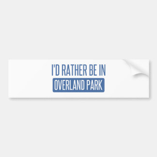Adesivo De Para-choque Eu preferencialmente estaria por terra no parque