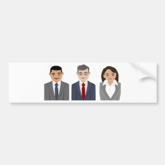 Adesivo De Para-choque Executivos da tiragem