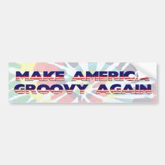 Adesivo De Para-choque Faça a América outra vez o autocolante no vidro