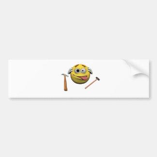 Adesivo De Para-choque Faça-o você mesmo emoticon