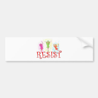 Adesivo De Para-choque Fadas da resistência