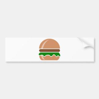 Adesivo De Para-choque Fast food do Hamburger um sanduíche