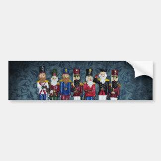 Adesivo De Para-choque Figuras do natal vintage