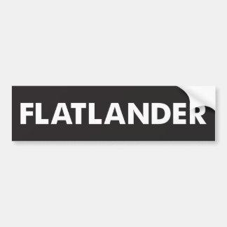 Adesivo De Para-choque Flatlander