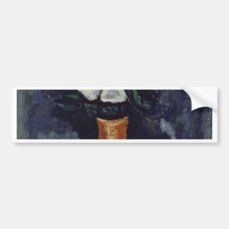 Adesivo De Para-choque Flor branca - Marsden Hartley