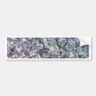 Adesivo De Para-choque Flor da amêndoa