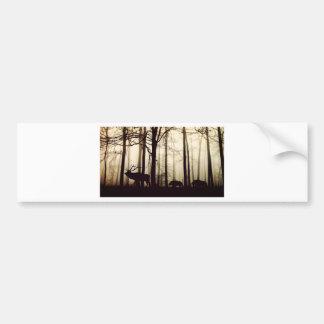 Adesivo De Para-choque floresta