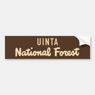 Adesivo De Para-choque Floresta nacional de Uinta