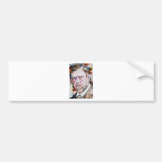 Adesivo De Para-choque FOGUISTA de BRAM - retrato da aguarela