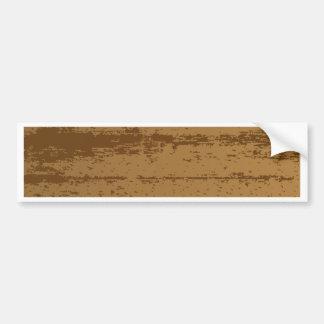 Adesivo De Para-choque Fundo de madeira da grão