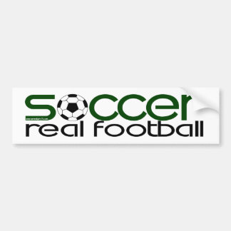 Adesivo De Para-choque Futebol = futebol real