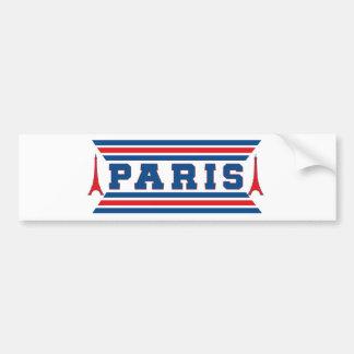 Adesivo De Para-choque Futebol Paris