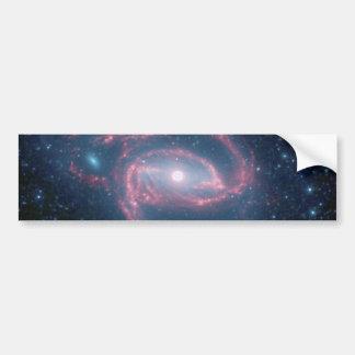 Adesivo De Para-choque Galáxia Coiled de NGC 1097 da noite