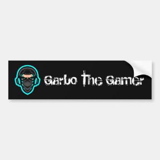 Adesivo De Para-choque Garbo o autocolante no vidro traseiro do Gamer