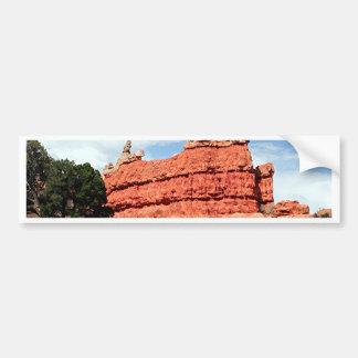 Adesivo De Para-choque Garganta vermelha, Utá, EUA 3