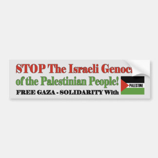 Adesivo De Para-choque Gaza livre & Palestina