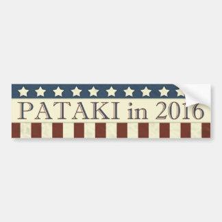 Adesivo De Para-choque George Pataki em 2016