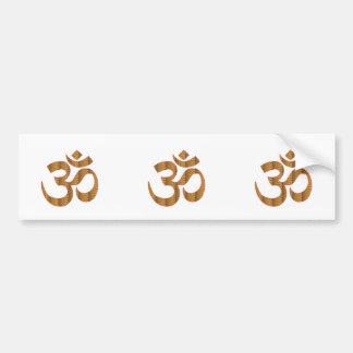 Adesivo De Para-choque GIF da hinduísmo do canto da meditação da ioga de