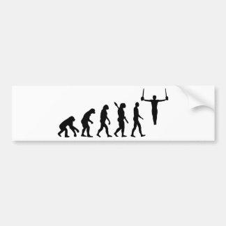 Adesivo De Para-choque Ginástica da evolução