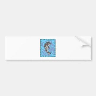 Adesivo De Para-choque Golfinho