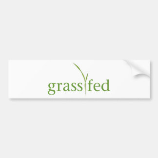 Adesivo De Para-choque Grama Fed