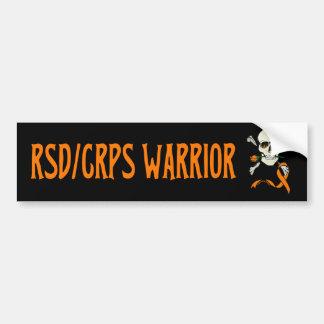 Adesivo De Para-choque Guerreiro/crânio… RSD/CRPS