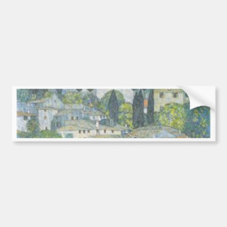 Adesivo De Para-choque Gustavo Klimt - igreja no trabalho de arte de