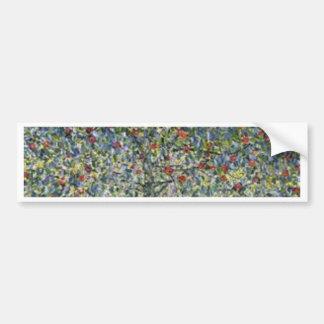 Adesivo De Para-choque Gustavo Klimt - pintura da árvore de Apple