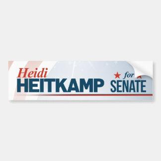 Adesivo De Para-choque Heidi Heitkamp para o Senado