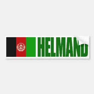 Adesivo De Para-choque Helmand - bandeira de Afeganistão