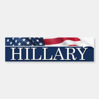 Adesivo De Para-choque Hillary para o presidente 2016