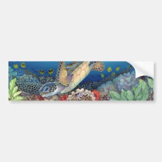 Adesivo De Para-choque Honu (tartaruga de mar verde)
