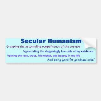 Adesivo De Para-choque Humanismo temporal