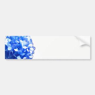 Adesivo De Para-choque Hydrangea dos azuis cobaltos