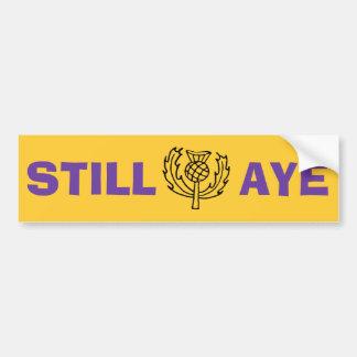 Adesivo De Para-choque Independência escocesa ainda Aye