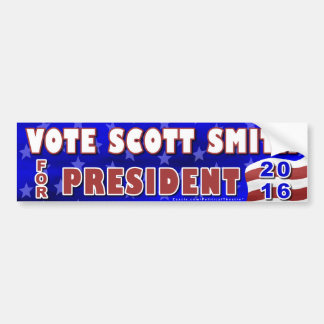 Adesivo De Para-choque Independente 2016 do presidente eleição de Scott