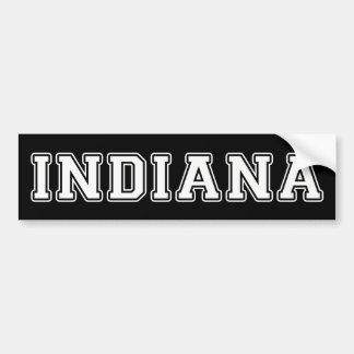 Adesivo De Para-choque Indiana