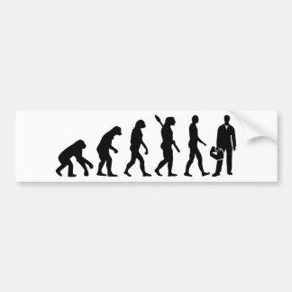 Adesivo De Para-choque Instalador da evolução