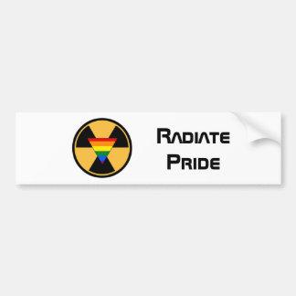 Adesivo De Para-choque Irradie o orgulho