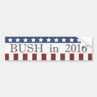 Adesivo De Para-choque Jeb Bush 2016 bandeiras dos Estados Unidos