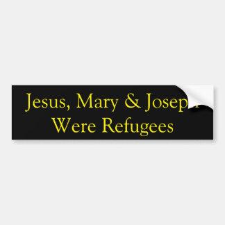 Adesivo De Para-choque Jesus era um autocolante no vidro traseiro do