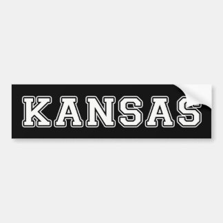 Adesivo De Para-choque Kansas