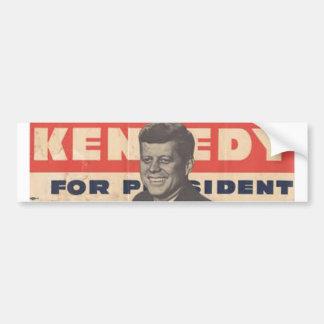 Adesivo De Para-choque Kennedy para o autocolante no vidro traseiro de