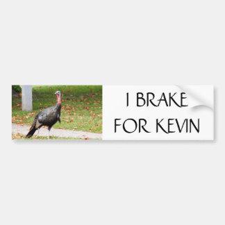 Adesivo De Para-choque Kevin a Turquia - FREIO de I PARA KEVIN