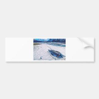 Adesivo De Para-choque Lago Tioga