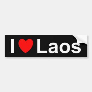 Adesivo De Para-choque Laos