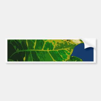 Adesivo De Para-choque leaves1